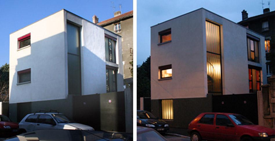 maison de ville grenoble 38 flloo atelier d 39 architecture